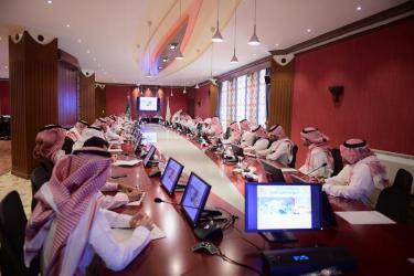 55% نسبة زيادة المعارض و المؤتمرات في المملكة خلال النصف الاول من 2016م.ورشة عمل بغرفة القصيم تعرًف بسياسات و اجراءات اقامة الفعاليات و الية الحصول على التصاريح