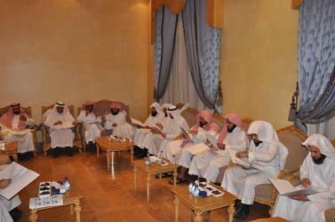 اجتماع لجنة الأوقاف