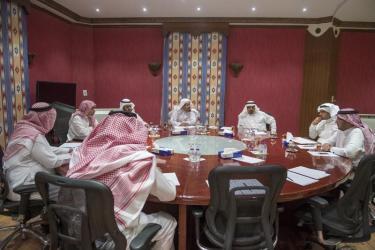 اجتماع لجنة المحامين