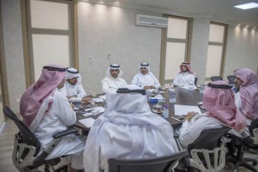 اجتماع لجنة التمور والزراعية