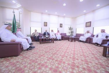 السفير الهندي لدى المملكة  يبحث مع غرفة القصيم تعزيز العلاقات التجارية و الاستثمار المشترك.